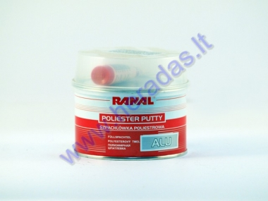 Polyester putty RANAL GLAS with aluminium powder 500g.