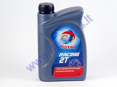 Motor oil for 2-stroke engines TOTAL RACING 2T 1 litre