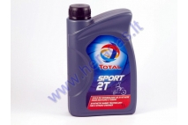 Motor oil for 2-stroke engines TOTAL SPORT 2T 1 litre