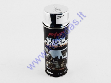 Spray paint PERFECT SUPER CHROME SILVER 400ml