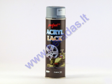 Gruntas PERFECT ACRYL LACK pilkas 500ml.