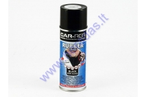 Rubber coating spray (rubber comp) black partial gloss 400ml