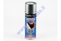 Rubber coating spray (rubber comp) metal grey partial gloss 400ml