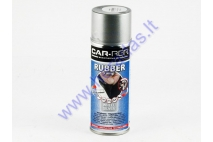 Rubber coating spray (rubber comp) silver high gloss 400ml