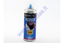 Rubber coating spray (rubber comp) yellow partial gloss 400ml