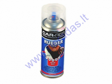 Rubber coating spray (rubber comp) neon red 400ml