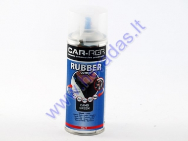 Rubber coating spray (rubber comp) green CAMO matte 400ml