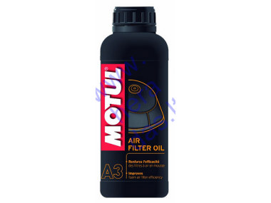 Air filter oil for motorcycle MOTUL 1l