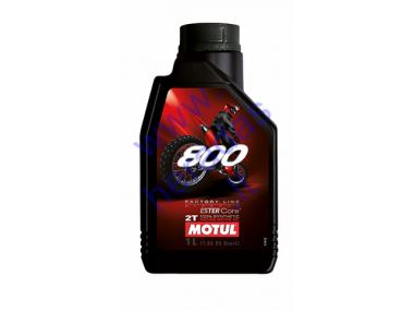 Motor oil for 2-stroke engines MOTUL 800 FL 2T OFF ROAD 1l