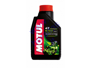 Motor oil for 4-stroke motorcycle engines MOTUL 5100 10W30
