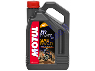 Motor oil for 4-stroke motorcycle engines MOTUL ATV POWER 5W40