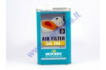 Air filter oil for motorcycle MOTOREX 206 1 litre