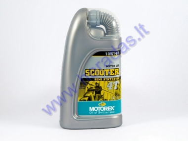 Motor oil for 4-stroke scooter engines MOTOREX SCOOTER 4T 10W40 1 litre