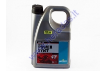 Motor oil for 4-stroke quad bike engines POWER SYNT 5W40 4 litres