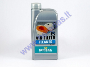 Motorcycle AIR FILTER CLEANER MOTOREX 1 litre