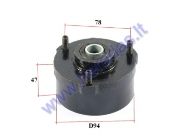 Brake drum (case) for quad bike 110-150cc
