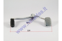 Gear shifter lever for quad bike