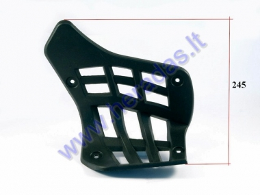 Footrest for quad bike right side
