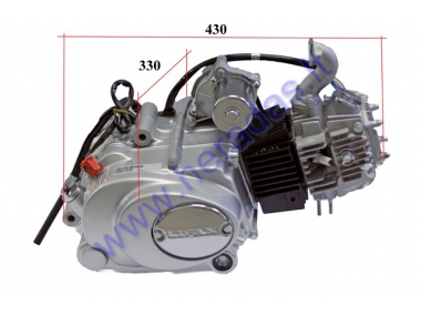 Engine for Lifan quad bike 110cc, automatic transmission
