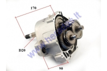 Transmission gearbox (reducer) for quad bike GY6 engine