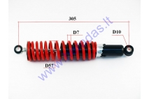 Shock absorber for ATV quad bike L305 spring diameter 7