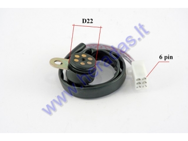 Gearbox sensor for 4-stroke motorcycle