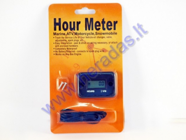 Vehicle service hour meter SY-N10