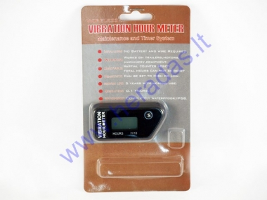 Vehicle service hour vibrational meter SY-N80C