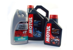Motor oil for 4-stroke engines