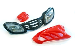 Plastic covers for ATVs