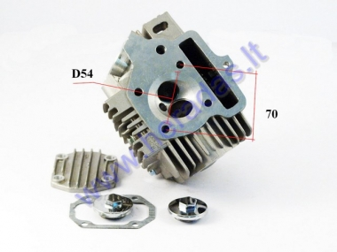 Cylinder head assembly for motorcycle 125cc