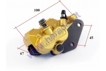 Front brake caliper for motorcycle