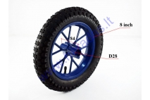 50cc motorcycle wheel with tire