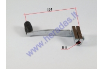 Gear shifter lever for motorcycle