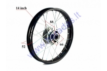 Front rim 16 inch (16″) for motorcycle