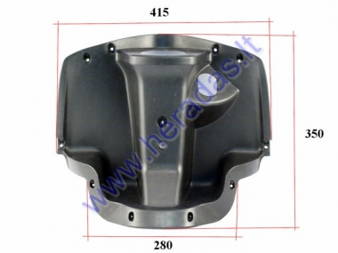 Plastic handlebar cover for electric scooter MS01 MS03
