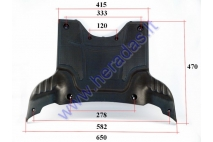 Plastic floor (footrest) for electric trike scooter MS01 MS03
