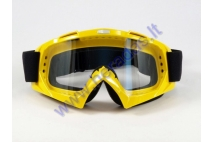 Dirt bike goggles clear lens