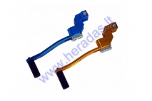 Gear shifter lever for motorcycle adjustable length