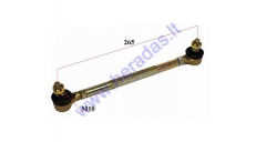 Steering tie rod assembly for ATV quad bike L265