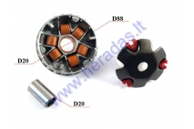 Variator for 50cc scooter GY6 sports