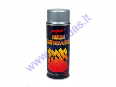 Heat resistant paint, up to 650C Grey color