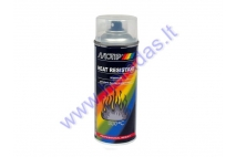 Heat resistant clear gloss finishing spray (lacquer) 800'C