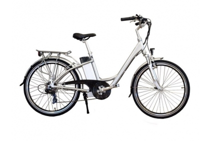 Electric bicycle ELECTRON  EB19. Aluminium frame, Lithium-ion batteries.