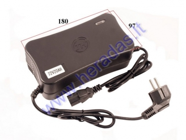 Battery charger for electric scooter 72V/20Ah   E-SMART