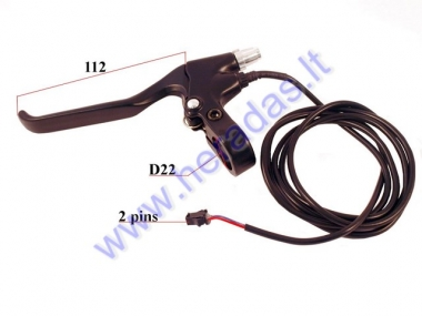 Left brake lever for electric bicycle  EB18 EB19 EB26