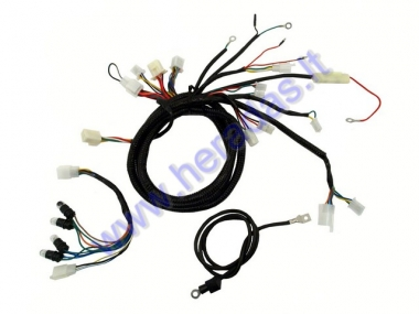 Wiring assembly (wire harness) for scooter 2T 50cc 12 inch