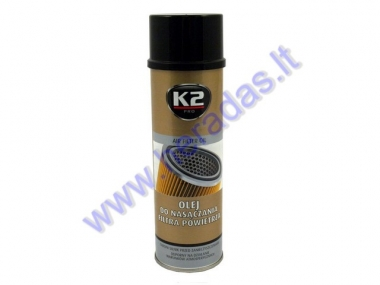 Air filter oil for motorcycle K2 500ml