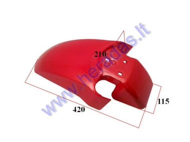 Front fender for electric trike scooter MS01 MS03 MS04