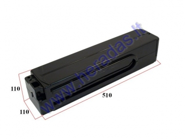 Battery box for electric bicycle